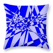 Abstract 152 Throw Pillow by J D Owen