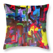 Abstract 213 Throw Pillow by Patrick J Murphy
