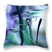 ABSTRACT 300 Throw Pillow by Gerlinde Keating - Keating Associates Inc