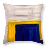 Abstract 402 Throw Pillow by Patrick J Murphy