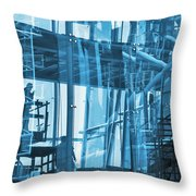 Abstract Architecture Throw Pillow by Carlos Caetano
