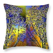 Abstract Fusion 100 Throw Pillow by Will Borden