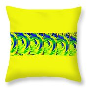Abstract Fusion 195 Throw Pillow by Will Borden
