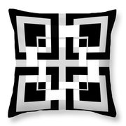Abstract Geometric  Throw Pillow by Mark Ashkenazi