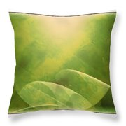 Abstract Globe Throw Pillow by Susan Leggett