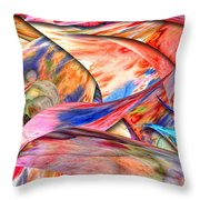 Abstract - Paper - Origami Throw Pillow by Mike Savad