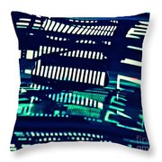 Abstract Reflection 6 Throw Pillow by Sarah Loft