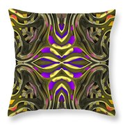 Abstract Rhythm - 31 Throw Pillow by Hanza Turgul