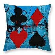 Abstract Tarot Art 012 Throw Pillow by Corporate Art Task Force