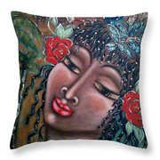 Abundance Throw Pillow by Maya Telford