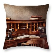 Accountant - Accounting Firm Throw Pillow by Mike Savad