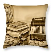 Accountant - It's All About The Numbers Throw Pillow by Paul Ward