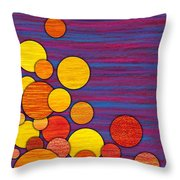 Accumulation Throw Pillow by David K Small