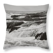 After The Crash Throw Pillow by Laurie Search