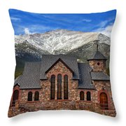 Afternoon Mass Throw Pillow by Darren  White