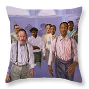 Against All Odds Throw Pillow by Colin Bootman