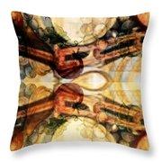 AGING BARRELS Throw Pillow by PainterArtist FIN