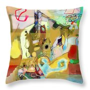 Aging Process 18j Throw Pillow by David Baruch Wolk
