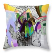 Aging Process 22c Throw Pillow by David Baruch Wolk
