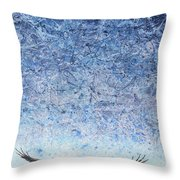 Ahead Of The Storm Throw Pillow by James W Johnson