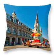 Ahh...new Orleans Throw Pillow by Steve Harrington