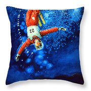 Air Force Throw Pillow by Hanne Lore Koehler