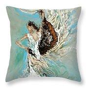 Air Throw Pillow by Karina Llergo Salto