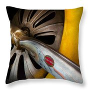 Air - Pilot - Ready For Take Off Throw Pillow by Mike Savad