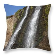 Alamere Falls Pacific Coast Throw Pillow by Garry Gay