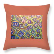 All Six's And Three's Throw Pillow by Sherry Harradence
