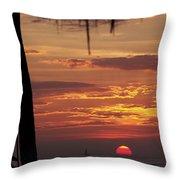Aloha Throw Pillow by KAREN WILES