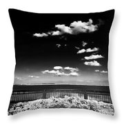 Along The Cooper River Throw Pillow by John Rizzuto