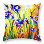 Alpha And Omega Throw Pillow by Talya Johnson