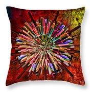 Alter Ego Throw Pillow by Deborah Benoit