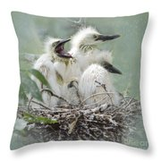 Always One In A Crowd Throw Pillow by Betty LaRue