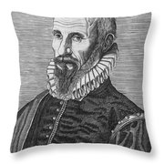 Ambrose Pare (1517?-1590) Throw Pillow by Granger