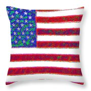 America - 20130122 Throw Pillow by Wingsdomain Art and Photography