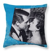 An Affair To Remember Throw Pillow by Mel Thompson