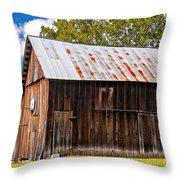 An American Barn 2 Throw Pillow by Steve Harrington