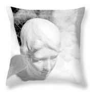 An Angel  Throw Pillow by Toppart Sweden