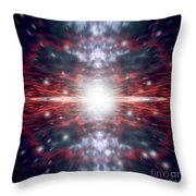 An Artists Depiction Of The Big Bang Throw Pillow by Marc Ward