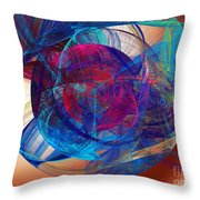 An Eye To The Soul Throw Pillow by Andee Design