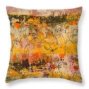Ancient Gardens 4 Throw Pillow by Nancy Kane Chapman