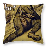 And You? Throw Pillow by Alfred Roller