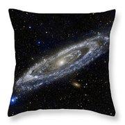 Andromeda Throw Pillow by Adam Romanowicz