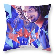 Andy Farag  Throw Pillow by Joshua Morton