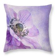 anemone Throw Pillow by Priska Wettstein