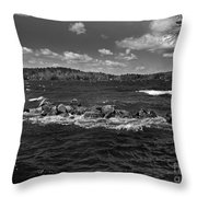 Angry Throw Pillow by Skip Willits