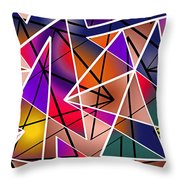 Angular Throw Pillow by Stephen Younts