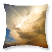 Another Incredible Cloud Throw Pillow by Joyce Dickens